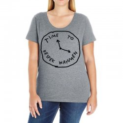 Time To Respek Wahmen Ladies Curvy T-Shirt | Artistshot