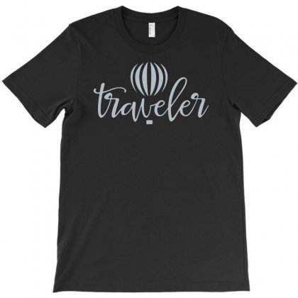 Traveler T-shirt Designed By Riksense