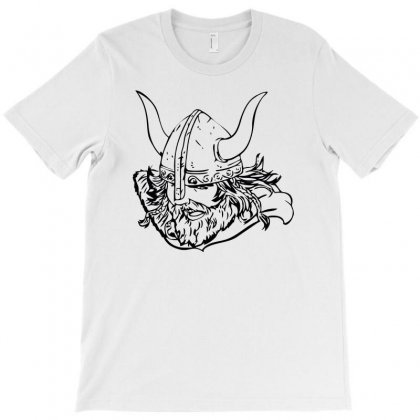 Viking T-shirt Designed By Riksense
