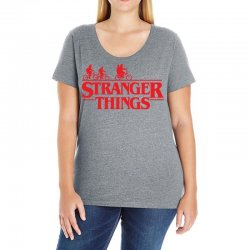 Stranger Things Ladies Curvy T-Shirt | Artistshot