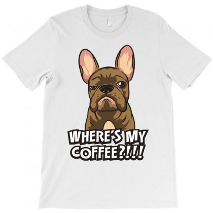 Where's My Coffee T-shirt Designed By Riksense