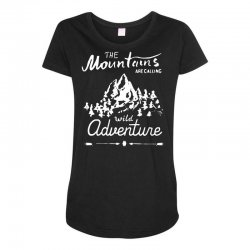 wild adventure Maternity Scoop Neck T-shirt | Artistshot