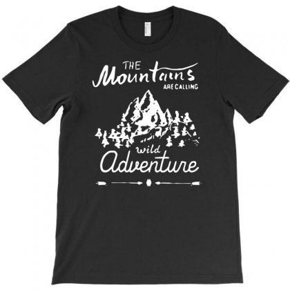 Wild Adventure T-shirt Designed By Riksense