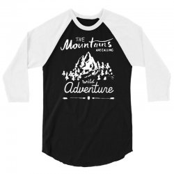 wild adventure 3/4 Sleeve Shirt | Artistshot