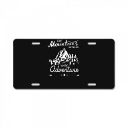 wild adventure License Plate | Artistshot