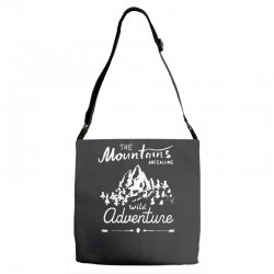 wild adventure Adjustable Strap Totes | Artistshot