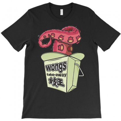 Wong's Noodles T-shirt Designed By Riksense