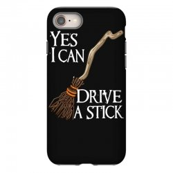 yes i can drive stick iPhone 8 Case | Artistshot