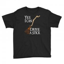 yes i can drive stick Youth Tee | Artistshot