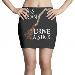 yes i can drive stick Mini Skirts | Artistshot