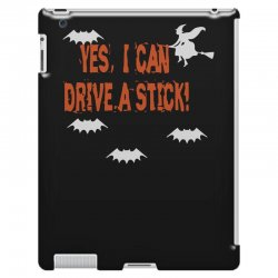 yes i can drive a stick iPad 3 and 4 Case | Artistshot