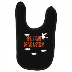yes i can drive a stick Baby Bibs | Artistshot