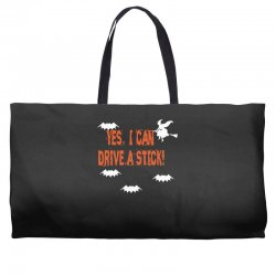yes i can drive a stick Weekender Totes | Artistshot