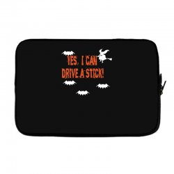 yes i can drive a stick Laptop sleeve | Artistshot