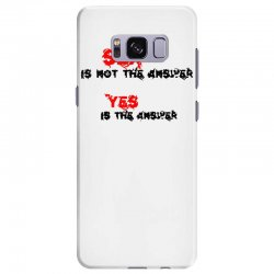 yes is the answer Samsung Galaxy S8 Plus Case | Artistshot