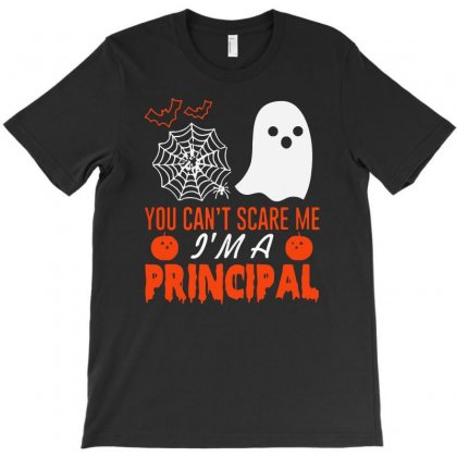 You Cant Scare Principal T-shirt Designed By Riksense