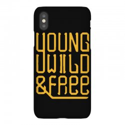 young wild and free iPhoneX Case | Artistshot