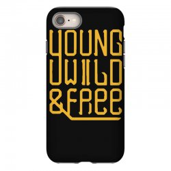 young wild and free iPhone 8 Case | Artistshot