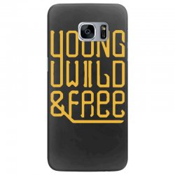 young wild and free Samsung Galaxy S7 Edge Case | Artistshot