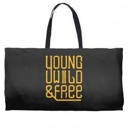 young wild and free Weekender Totes | Artistshot