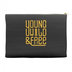 young wild and free Accessory Pouches | Artistshot