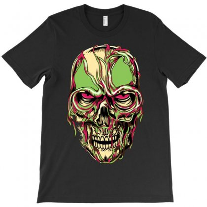 Zombie Look T-shirt Designed By Riksense