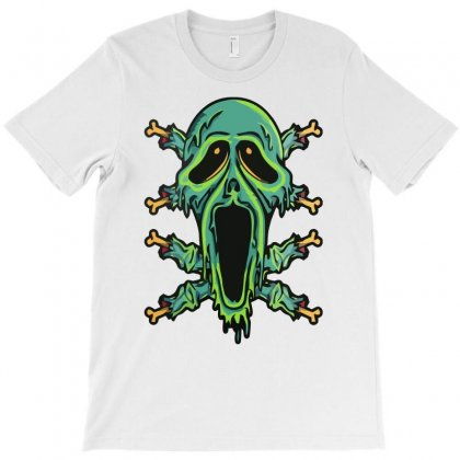 Zombie Smile T-shirt Designed By Riksense