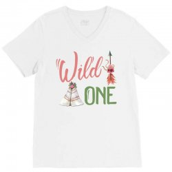 Wild One V-Neck Tee | Artistshot