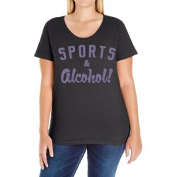 sports and alcohol! Ladies Curvy T-Shirt | Artistshot