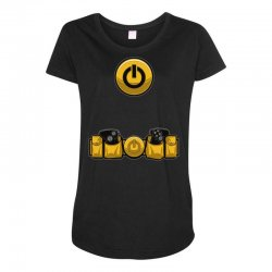 geek utility belt Maternity Scoop Neck T-shirt | Artistshot