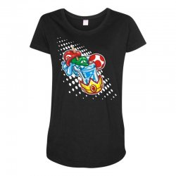 mario bros Maternity Scoop Neck T-shirt | Artistshot