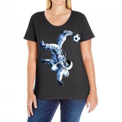 """""""buzz aldrin"""" always sounded like a sports name Ladies Curvy T-Shirt 