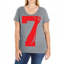 Colin Kaepernick Number 7 Ladies Curvy T-Shirt | Artistshot