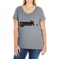 geek t shirt Ladies Curvy T-Shirt | Artistshot