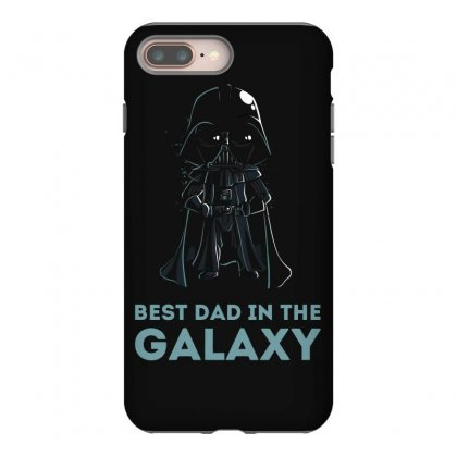 Best Dad In The Galaxy Iphone 8 Plus Case Designed By Mash Art