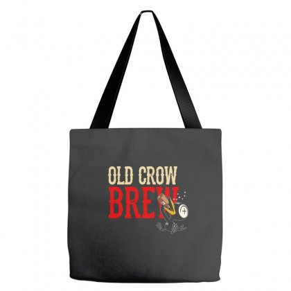 Drinky Crow Tote Bags Designed By Aheupote