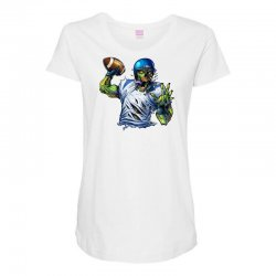 SPORTS ZOMBIE Maternity Scoop Neck T-shirt | Artistshot