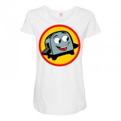 the brave little toaster to the rescue Maternity Scoop Neck T-shirt | Artistshot