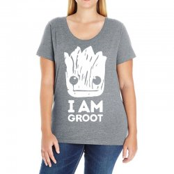 i am groot Ladies Curvy T-Shirt | Artistshot
