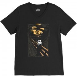 burton's scream V-Neck Tee | Artistshot