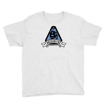 Caprica City Buccaneers Youth Tee Designed By Mash Art