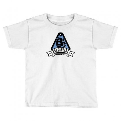 Caprica City Buccaneers Toddler T-shirt Designed By Mash Art