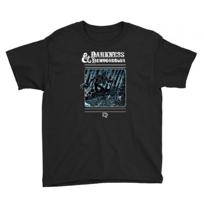Darkness And Demogorgons Youth Tee Designed By Mash Art