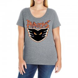 philadelphia phantoms ahl hockey sports Ladies Curvy T-Shirt | Artistshot