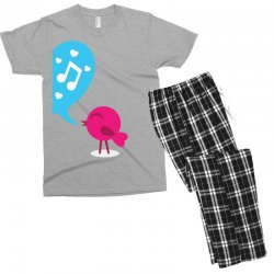 Love Bird Men's T-shirt Pajama Set | Artistshot
