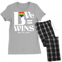 Love Wins Women's Pajamas Set | Artistshot