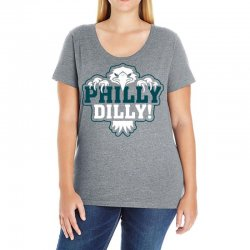 Philly Dilly Ladies Curvy T-Shirt | Artistshot