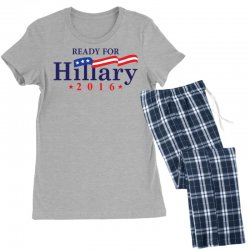 Ready For Hillary 2016 Women's Pajamas Set | Artistshot