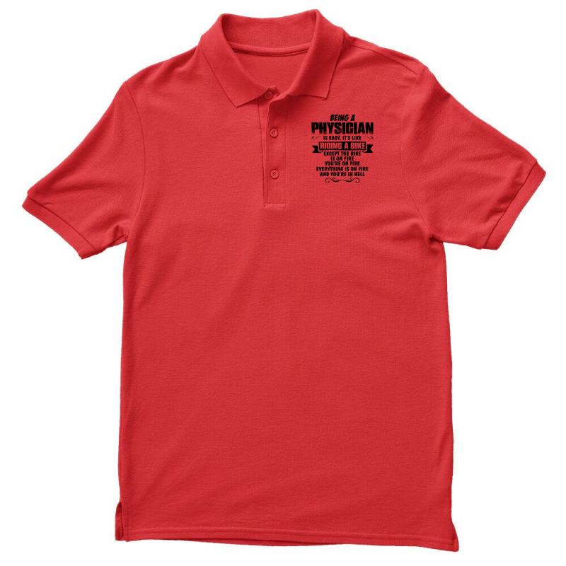 Being A Physician Copy Men's Polo Shirt | Artistshot