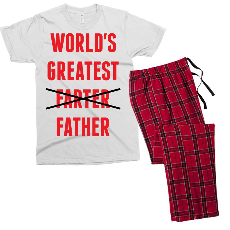 eb77cd85 Custom Worlds Greatest Farter Father Men's T-shirt Pajama Set By ...